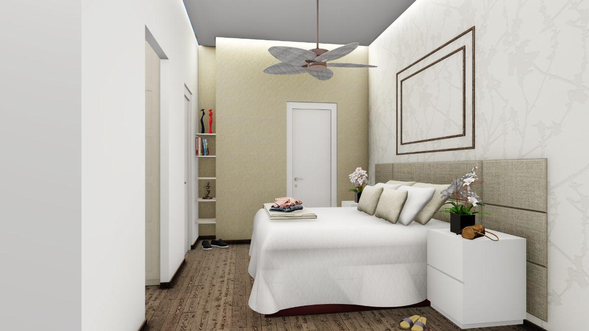 עיצוב פנים חדר אורחים | אדריכלות חדר שינה - חדר אורחים