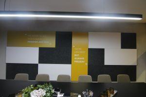 עיצוב פנים קיר משרד   אדריכלות קיר משרד - קיר משרד