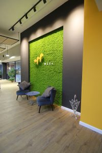 עיצוב פנים כניסה | אדריכלות כניסה למשרד - כניסה למשרד