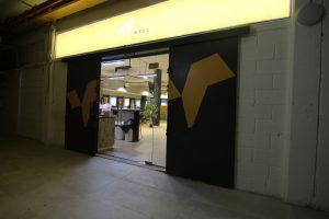 עיצוב פנים כניסה   אדריכלות כניסה למשרד - כניסה למשרד